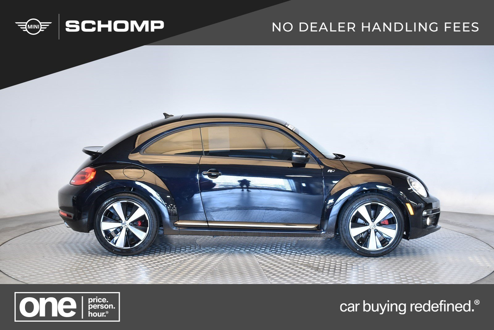 Pre-Owned 2015 Volkswagen Beetle Coupe 2.0T R-Line