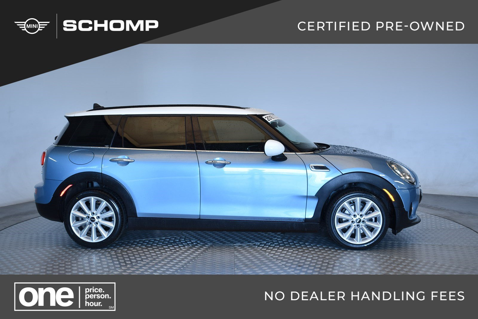 Certified Pre Owned 2016 Mini Cooper Clubman Fwd In Highlands Ranch