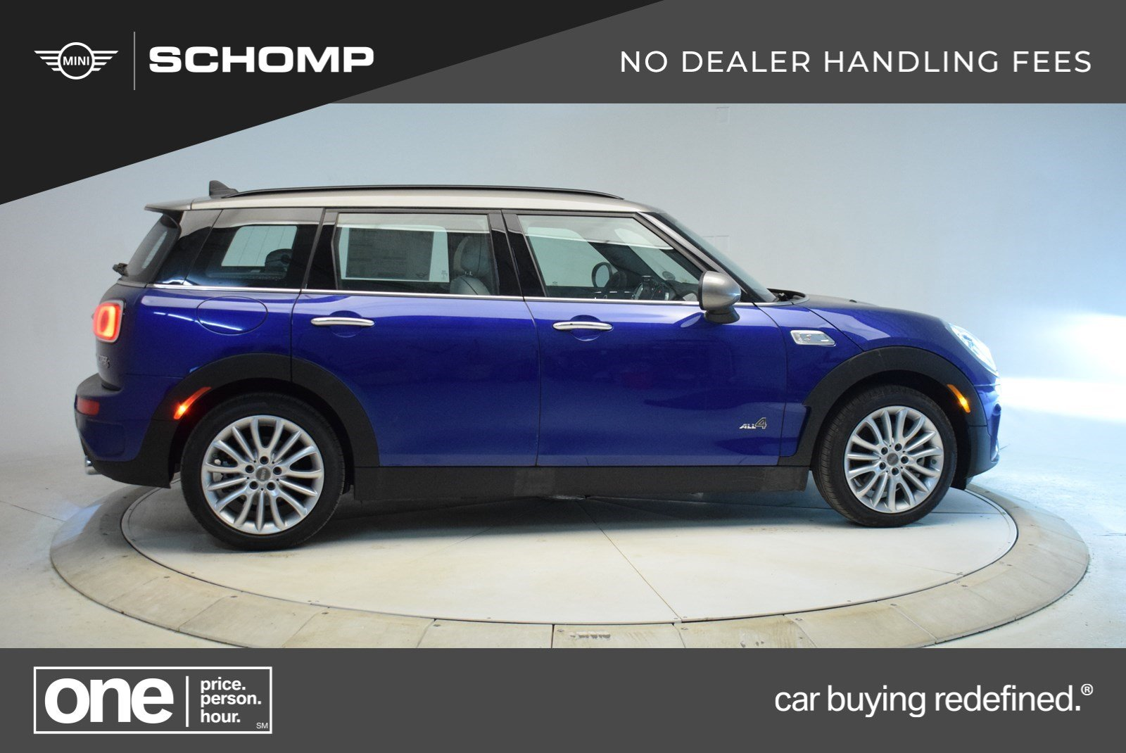 New 2019 Mini Cooper S Clubman Cooper S Awd