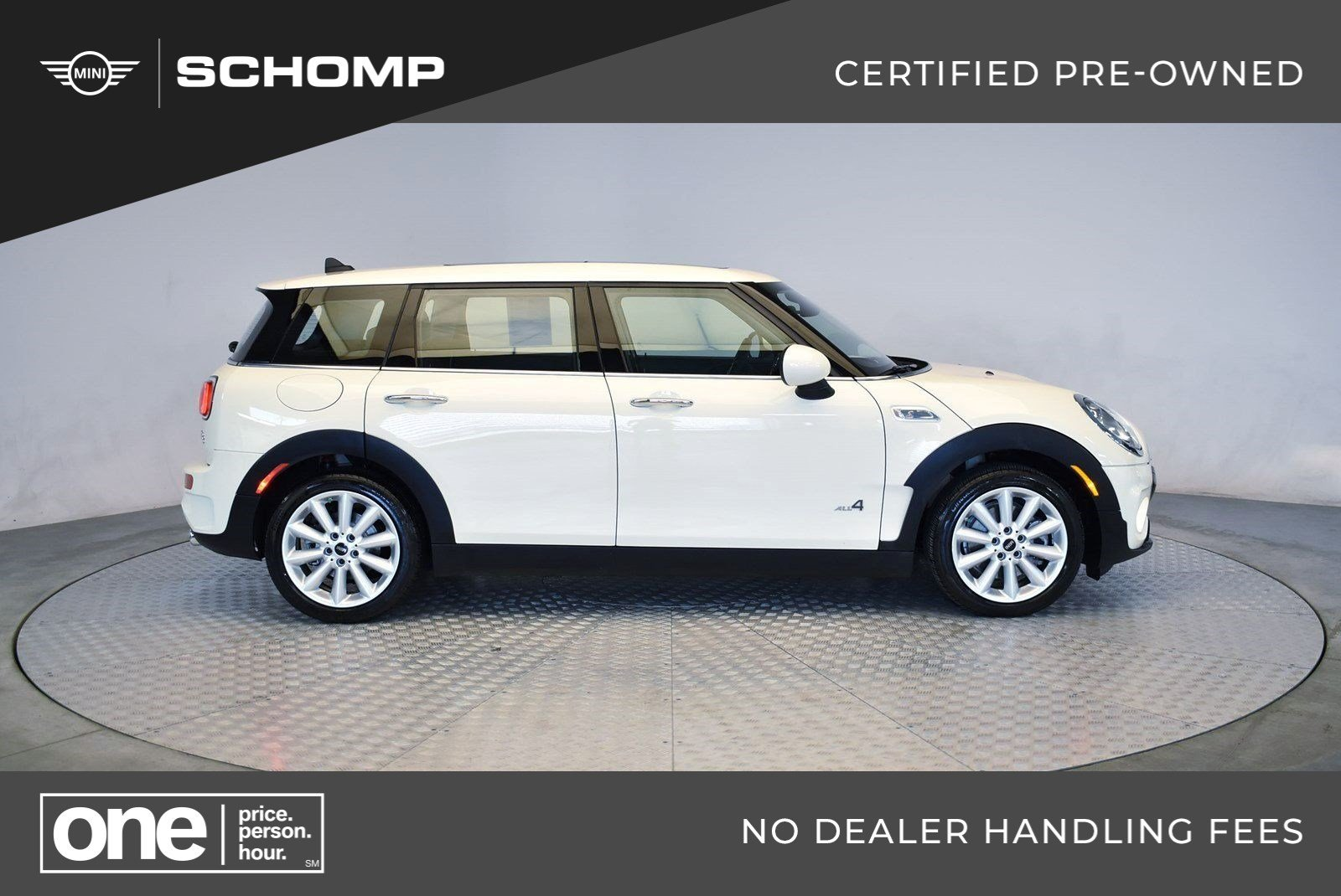Certified Pre Owned 2019 Mini Clubman Cooper S Awd In Highlands