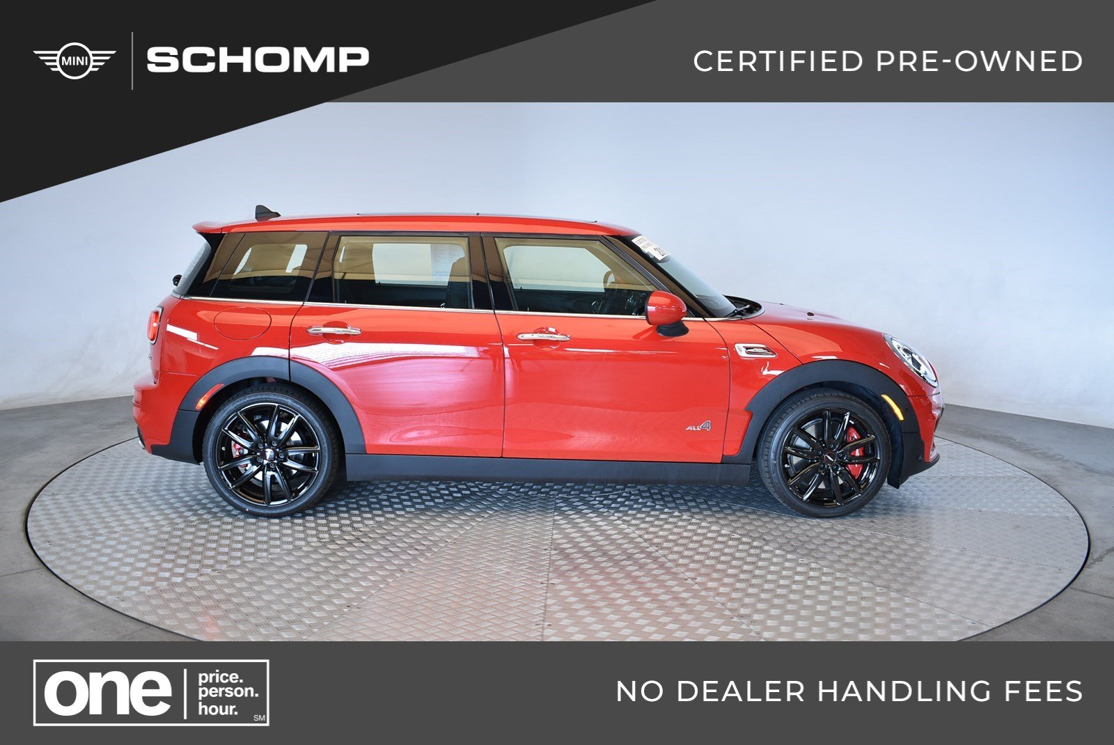 Pre Owned 2019 Mini Clubman John Cooper Works Awd In Highlands Ranch