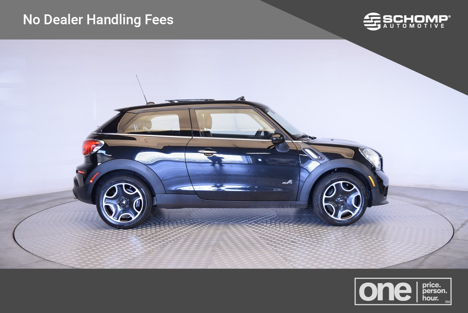Pre Owned 2017 Mini Paceman Cooper S