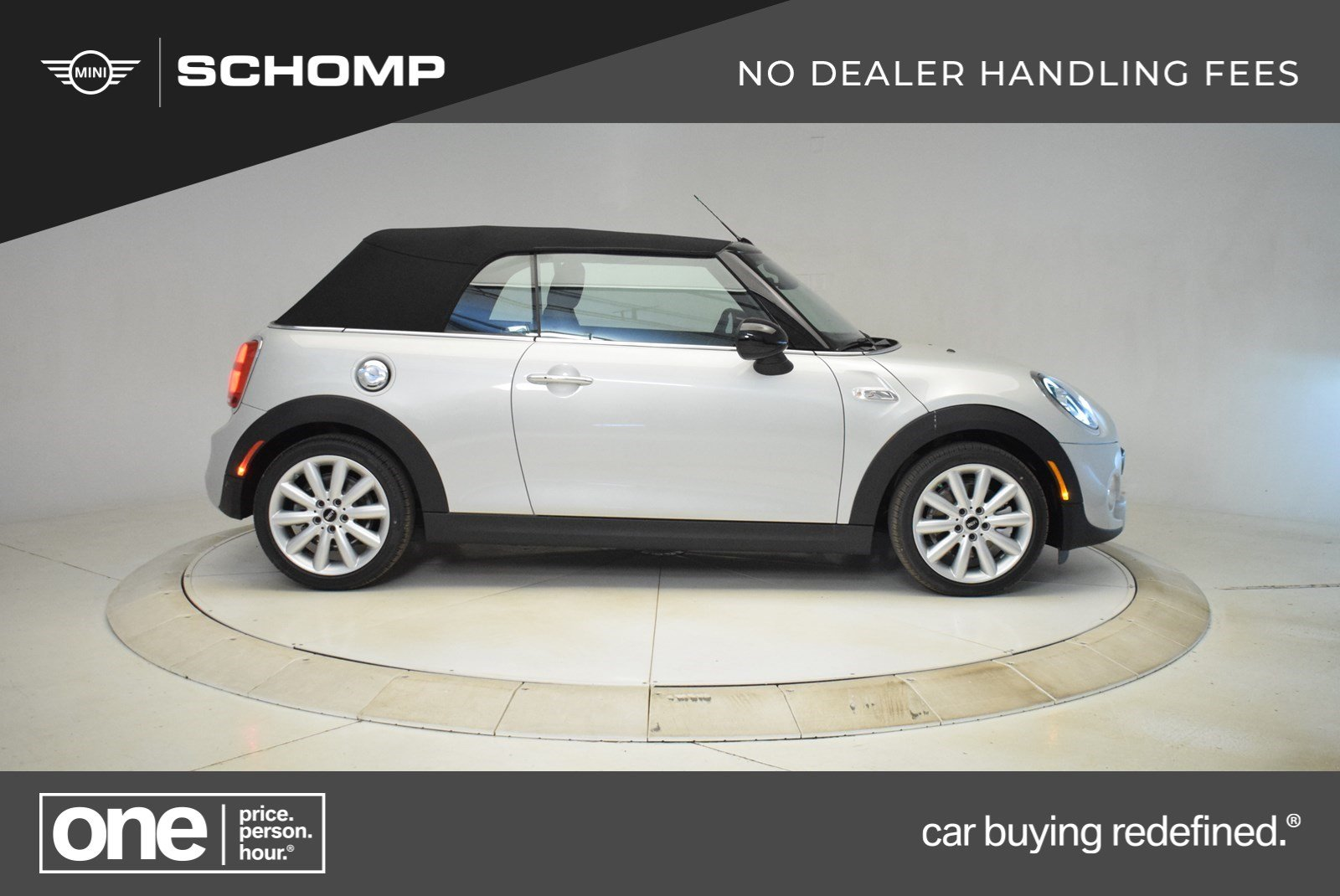 New 2019 MINI Convertible Cooper S Signature