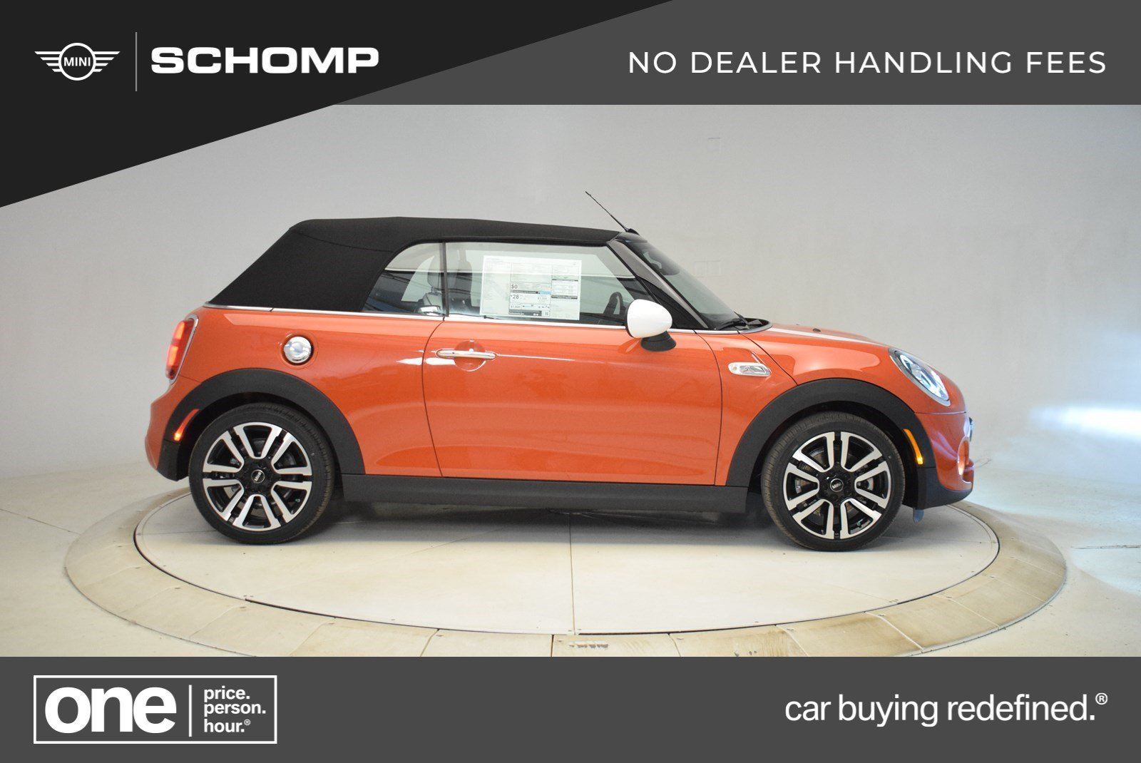 New 2019 MINI Convertible Cooper S Iconic