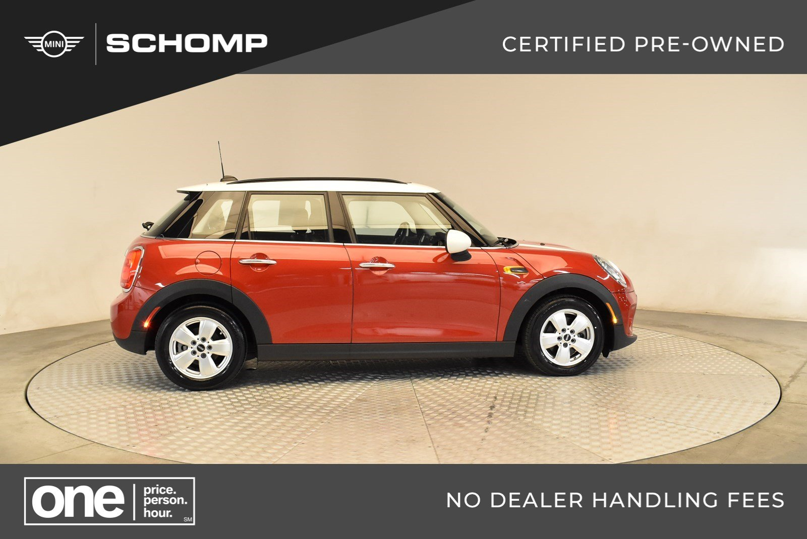 Certified Pre-Owned 2015 MINI Hardtop 4 Door Cooper