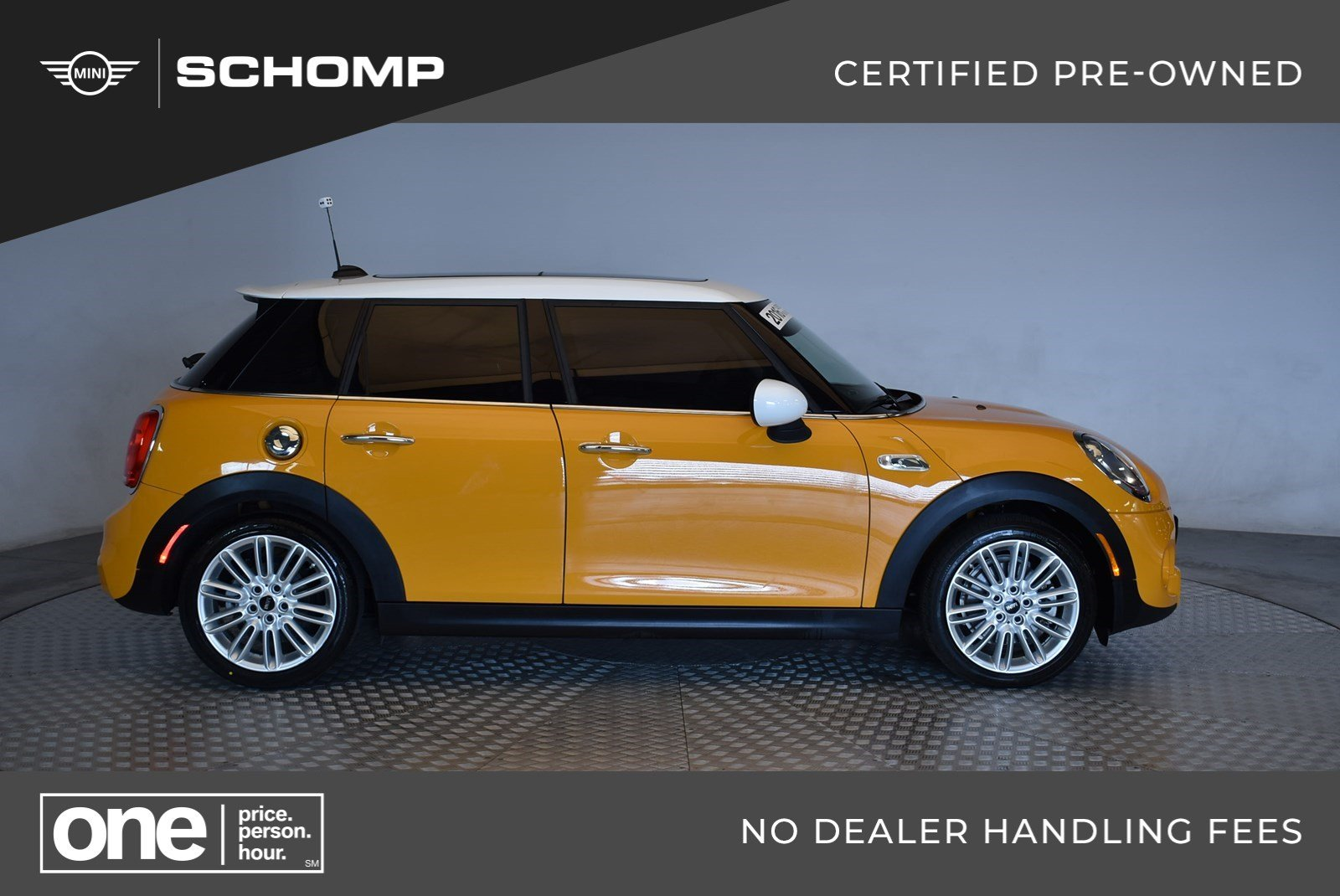 Pre Owned 2016 Mini Cooper Hardtop 4 Door S Fwd In Highlands Ranch