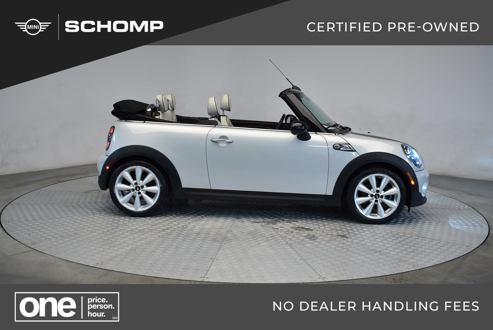 Certified Pre-Owned 2015 MINI Convertible Cooper S