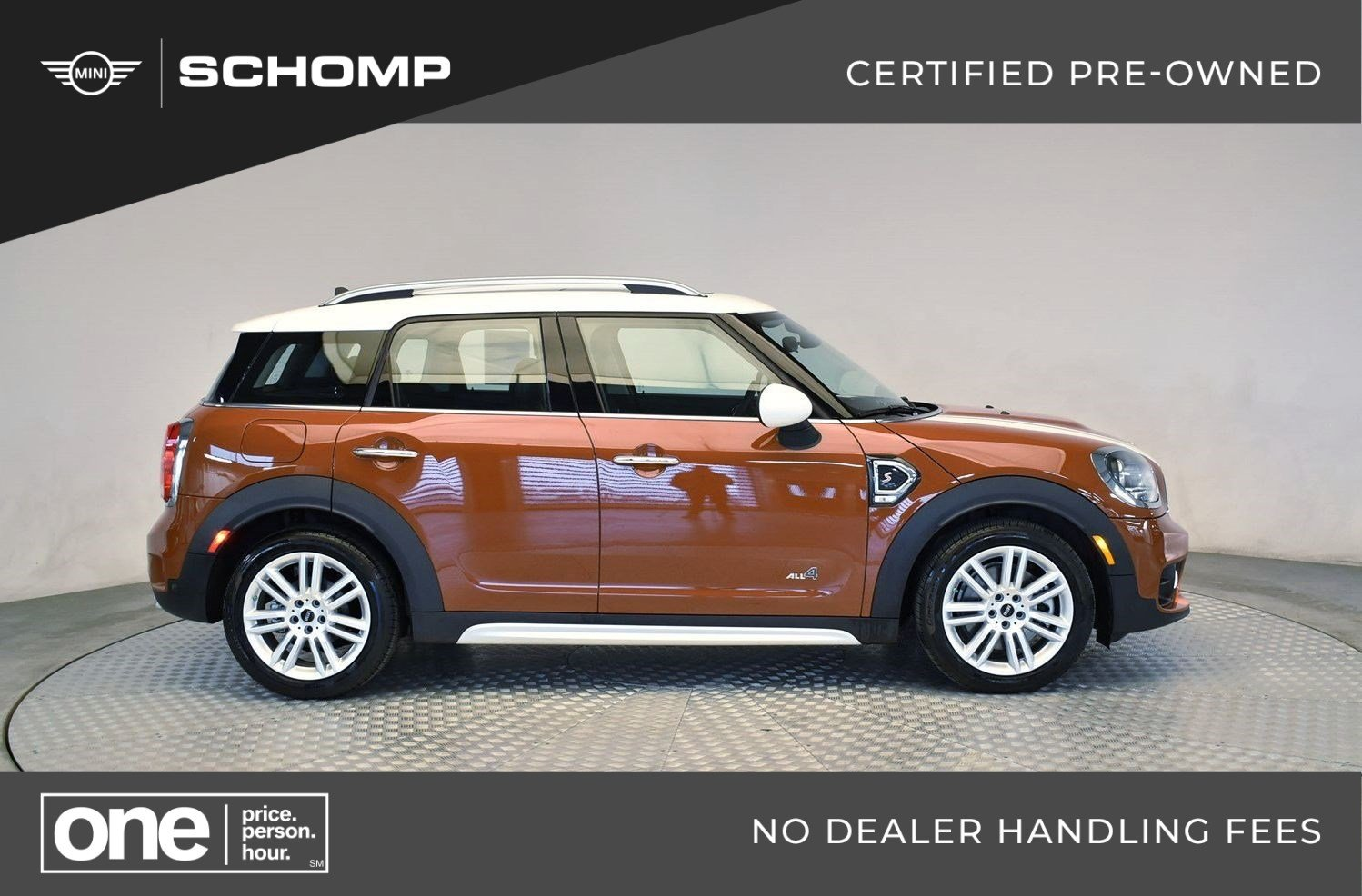 Pre Owned 2019 Mini Countryman Cooper S Awd In Highlands Ranch