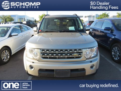 Pre-Owned 2010 Land Rover LR4 LUX