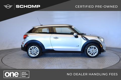 Certified Pre-Owned 2015 MINI Paceman Cooper S