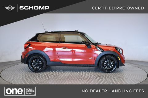 Certified Pre-Owned 2016 MINI Paceman Cooper S