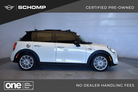 Certified Pre-Owned 2018 MINI Hardtop 4 Door Cooper S